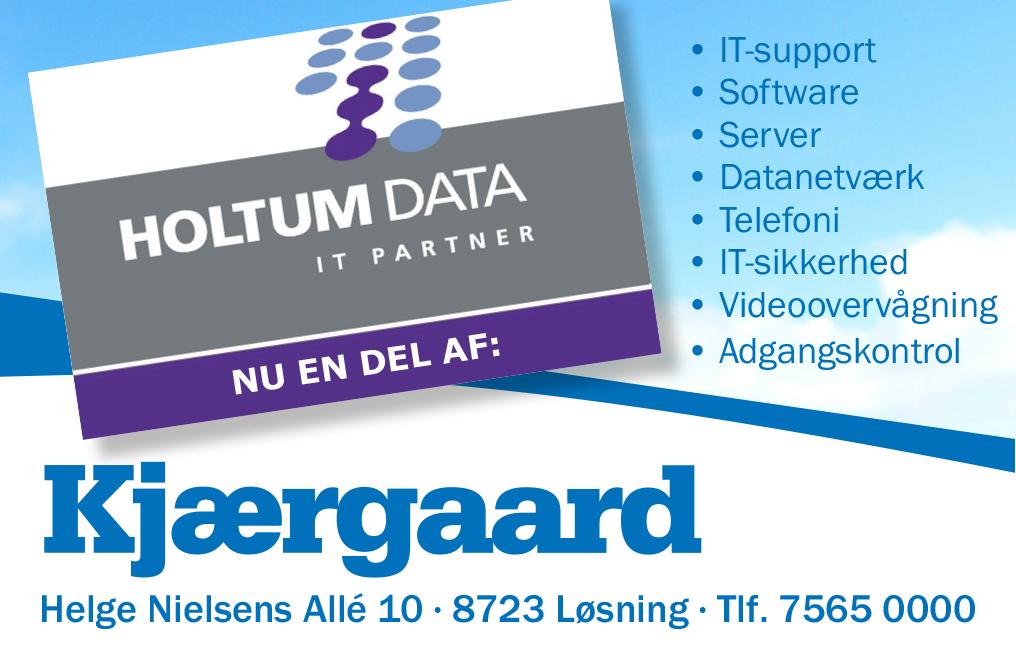 Holtumdata er opkøbt af Kjærgaard IT